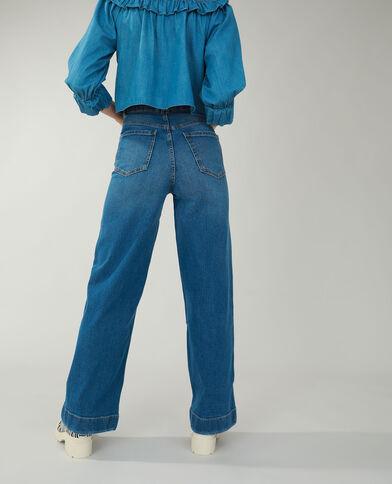 Jean flare bleu denim - Pimkie