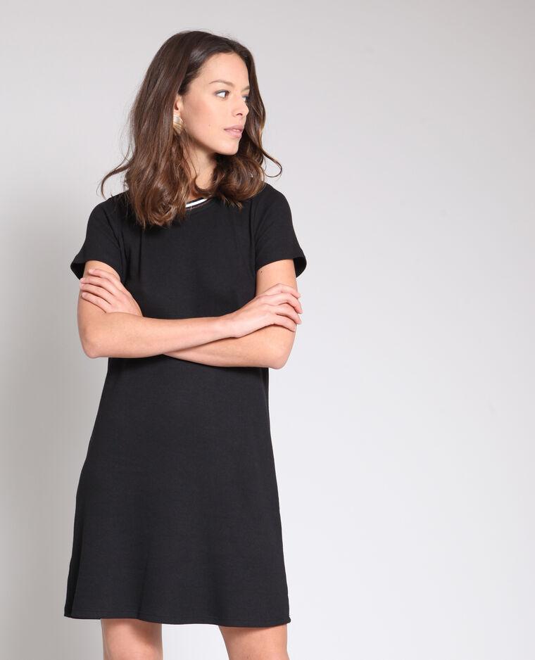 Robe T Shirt Noir 780921899a08 Pimkie