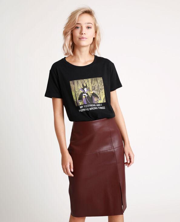 T-shirt La belle au bois dormant noir