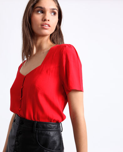 Body chemisier rouge