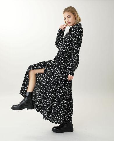 Robe chemise longue noir - Pimkie