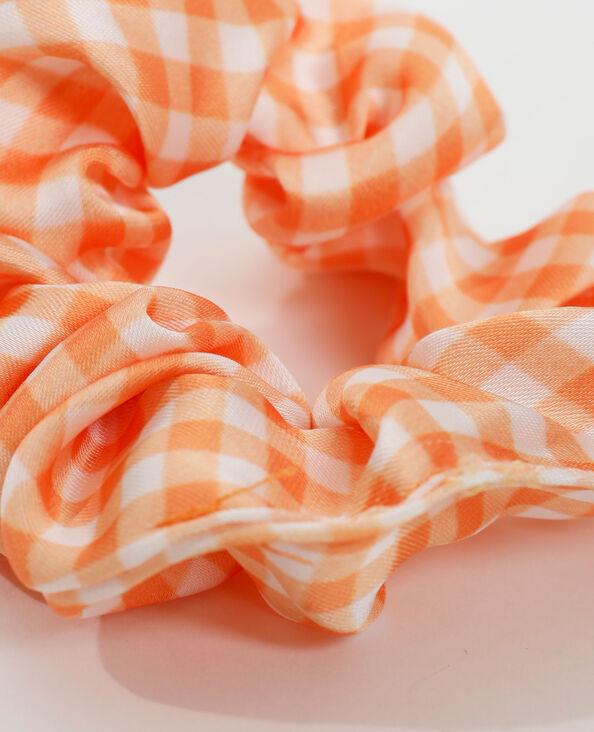 Chouchou vichy orange - Pimkie