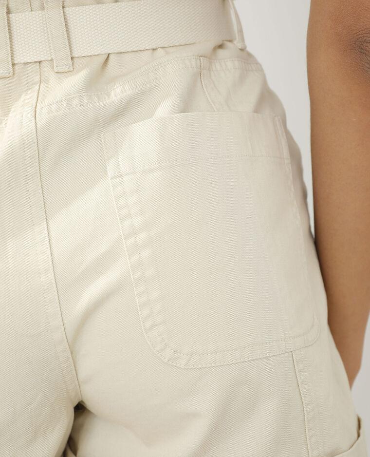 Short beige chiné - Pimkie