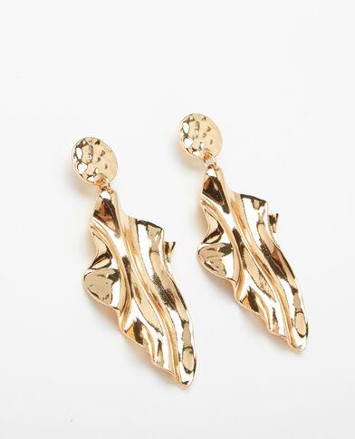 Boucles d'oreilles XL doré - Pimkie