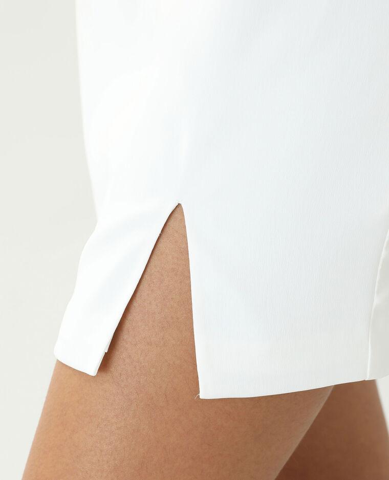 Robe satinée blanc cassé - Pimkie