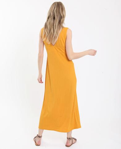 e3cfa50041be Robe longue jaune