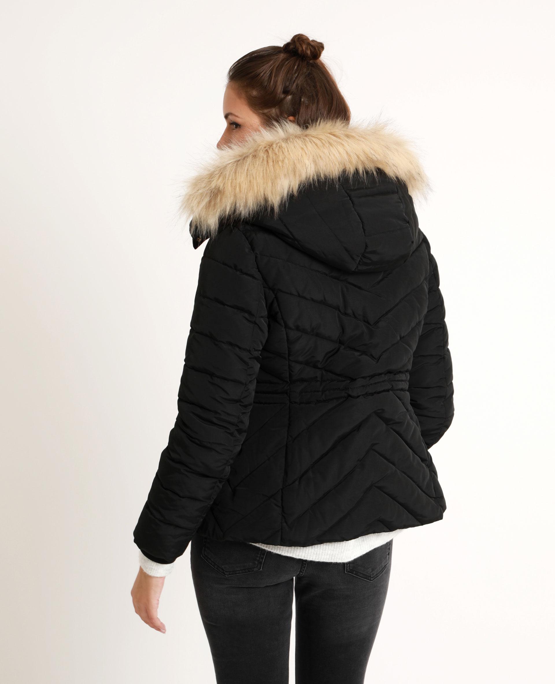 Manteau laine ample femme