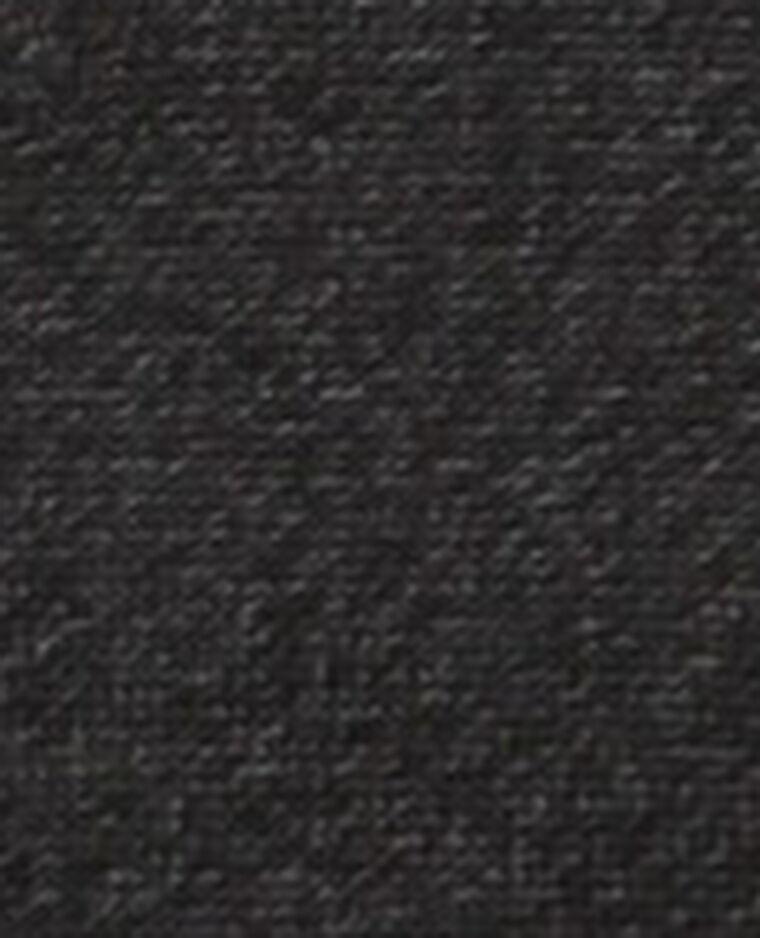 Combishort à fines bretelles noir - Pimkie