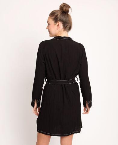 eac98c0cca8 Robe chemise noir