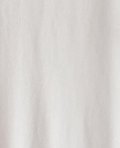 Robe ceinturée en matière recyclée beige