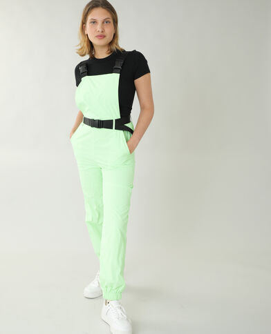 Salopette fluo vert - Pimkie