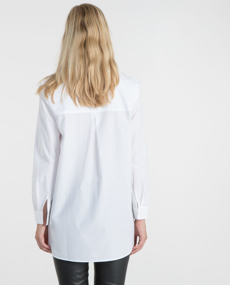 Chemise popeline blanc