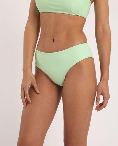 Bas de bikini tanga vert fluo