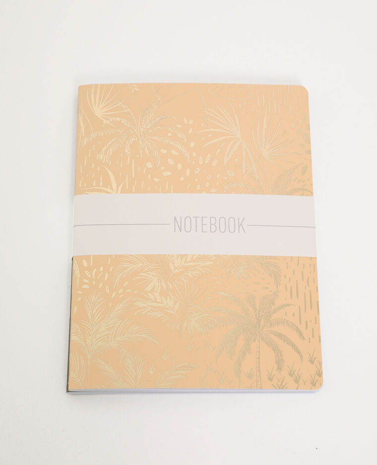 Lot de 2 notebooks kaki