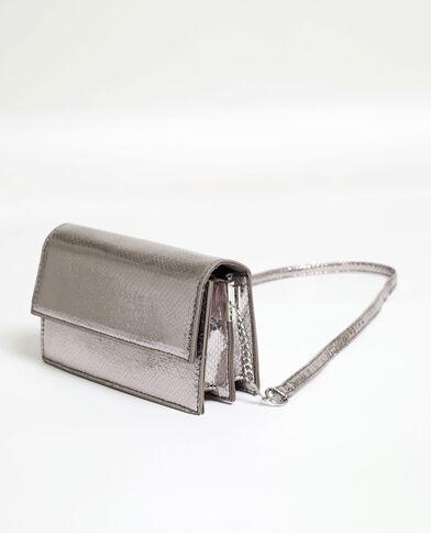 Petit sac python gris - Pimkie