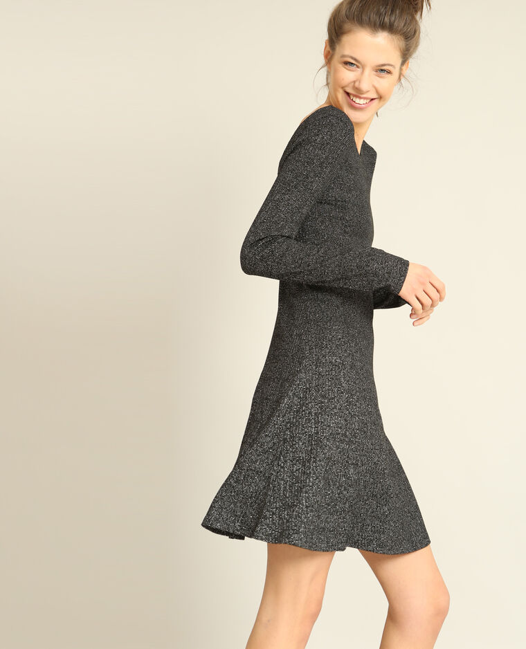 Robe trapèze gris