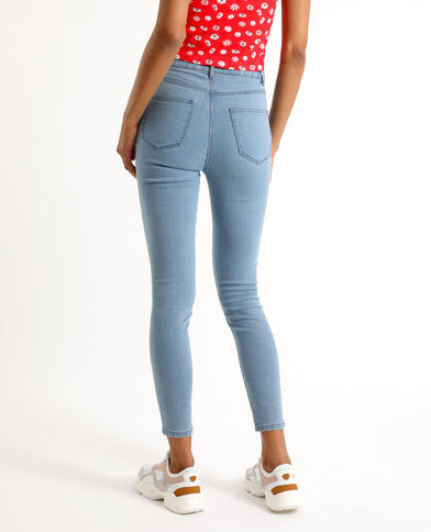 Jegging mid waist bleu denim