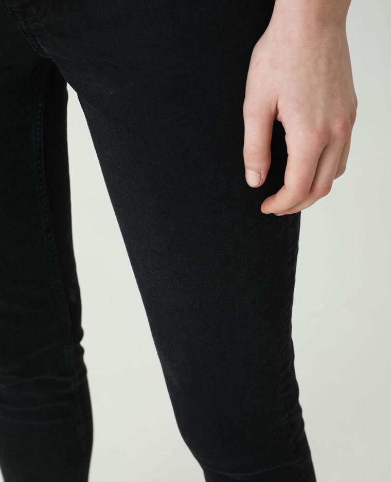 Jean skinny high waist noir - Pimkie