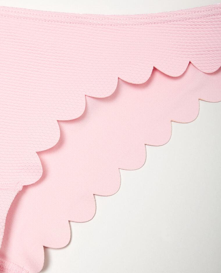 Bas de maillot de bain pétales rose pâle