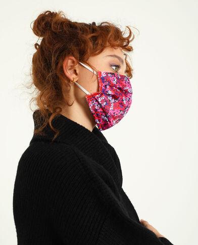 Lot de 2 masques en tissu lilas