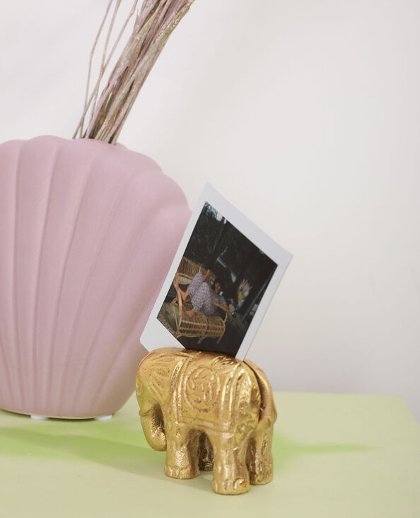 Porte-photo éléphant doré - Pimkie