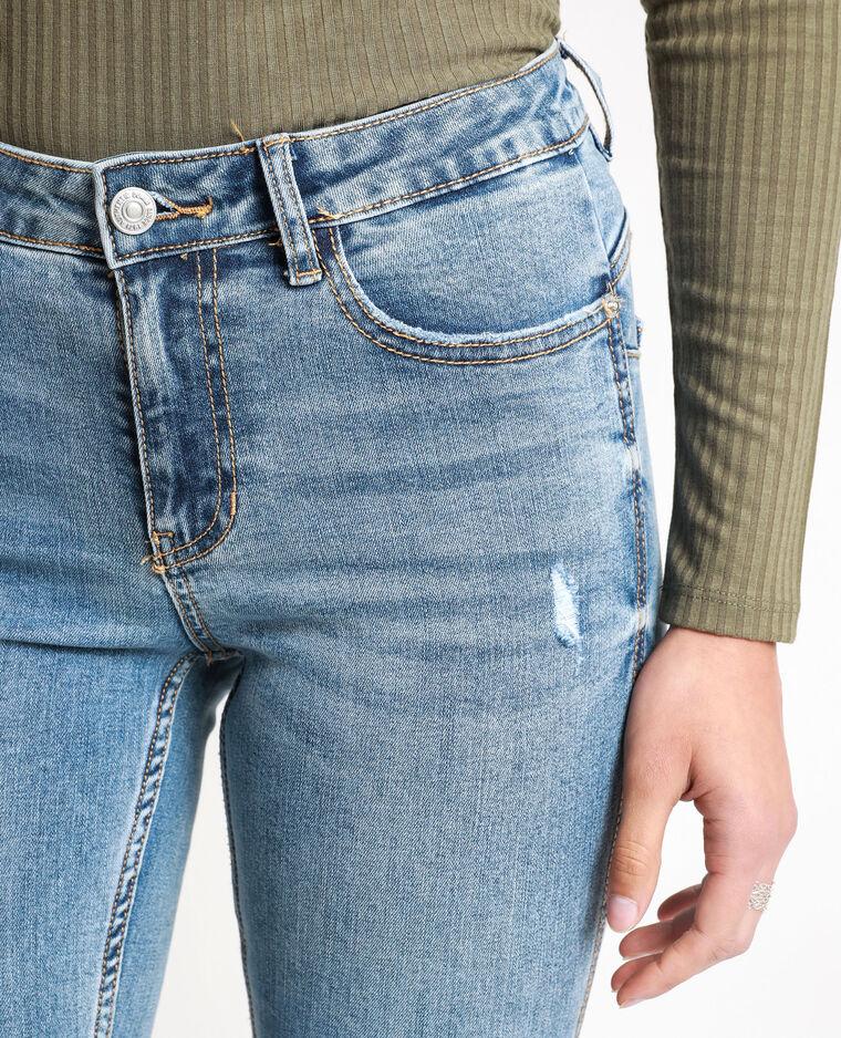 Jean push up mid waist bleu denim - Pimkie