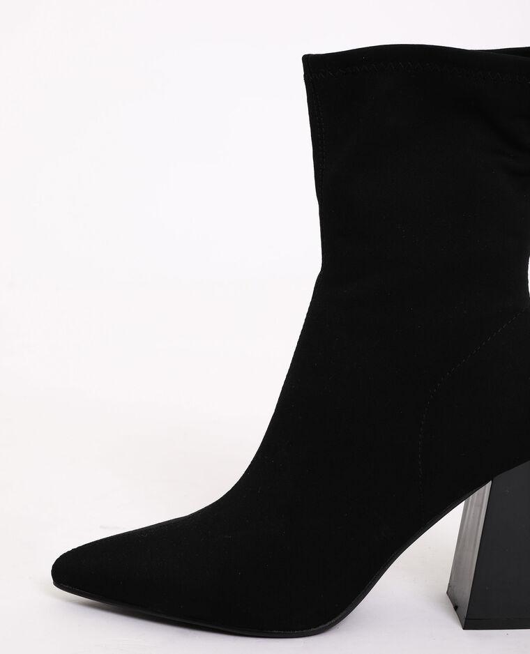 Bottes à talons noir