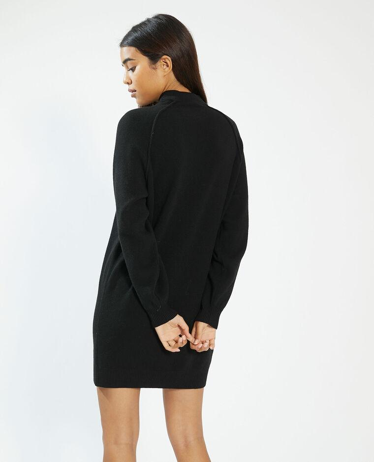 Robe pull noir - Pimkie