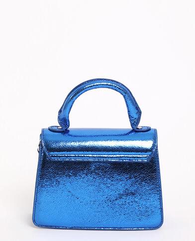 Sac boxy Bleu