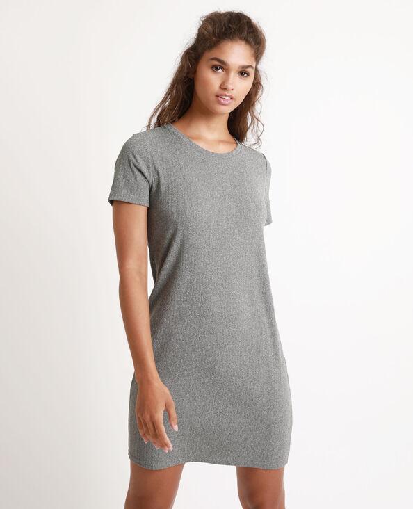 Robe t-shirt gris