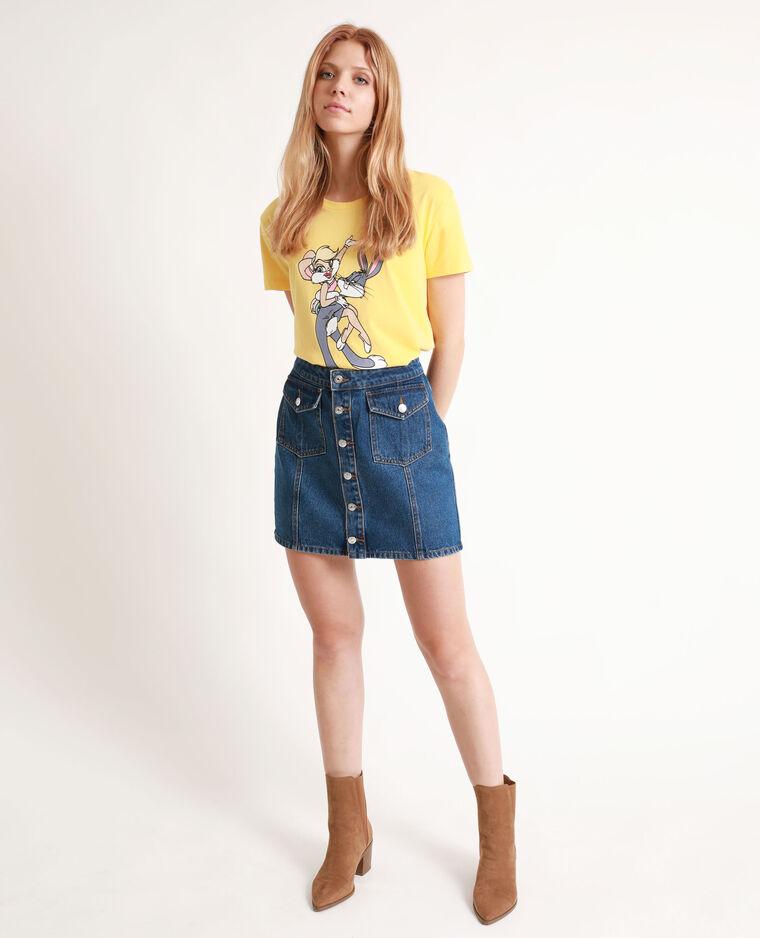 T-shirt Looney Tunes jaune