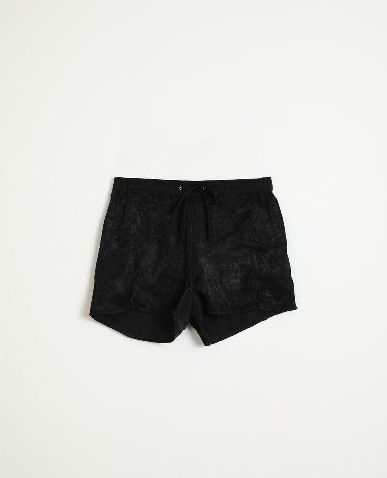 Short satiné noir - Pimkie