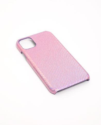 Coque iPhone XR/11 rose