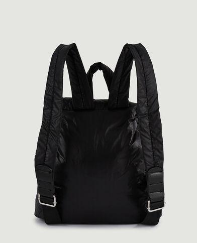 Mini sac à dos matelassé noir - Pimkie