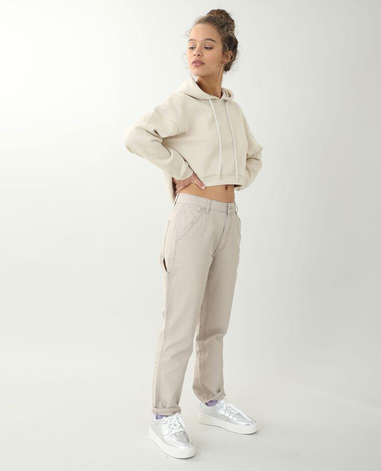 Pantalon droit marron - Pimkie