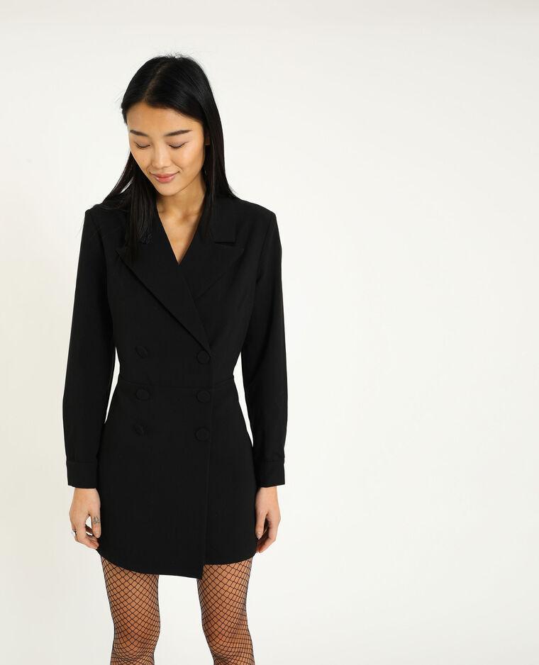 Combishort blazer noir