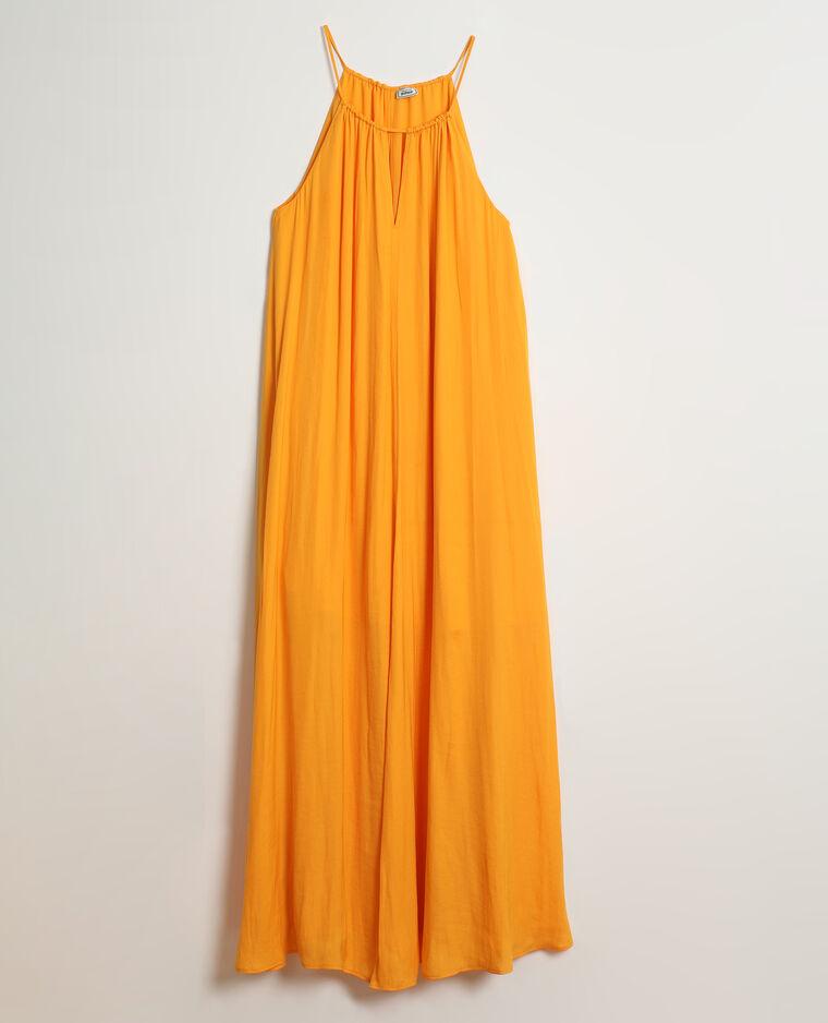 Robe longue orange - Pimkie