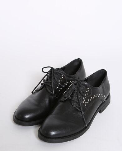 Derbies à lacets noir