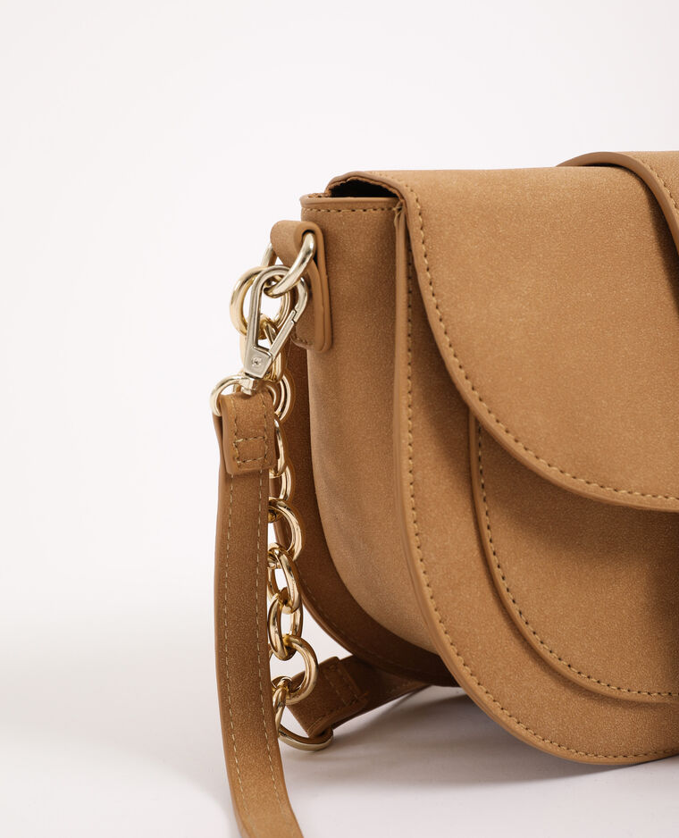 Sac besace beige ficelle
