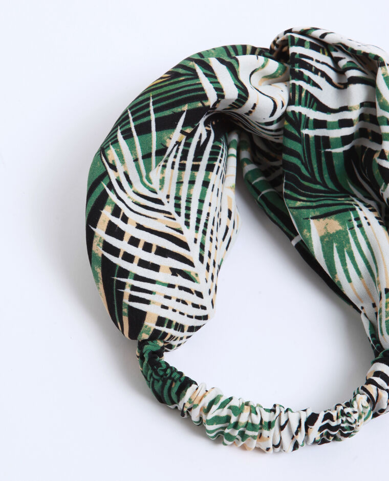 Headband tropical vert
