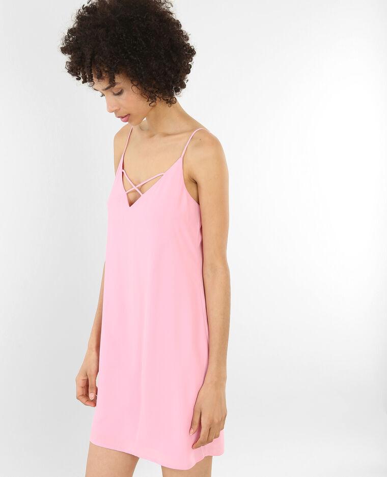 c803dbb03b Robe croisée rose - 780690I00A02 | Pimkie