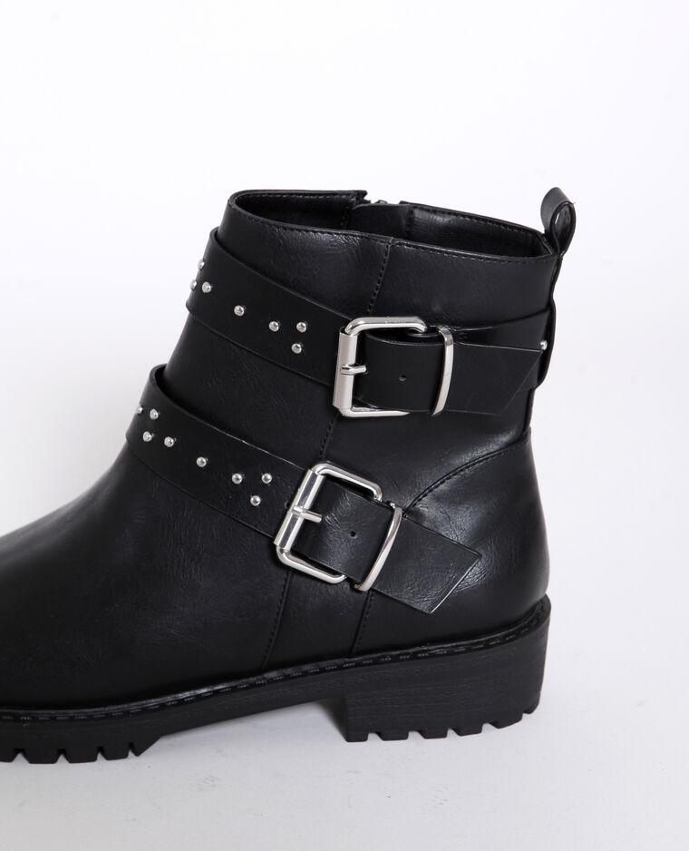 Boots motard noir