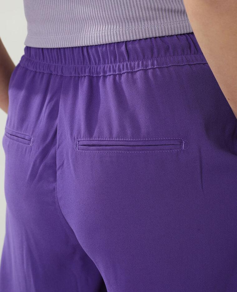 Pantalon large violet - Pimkie