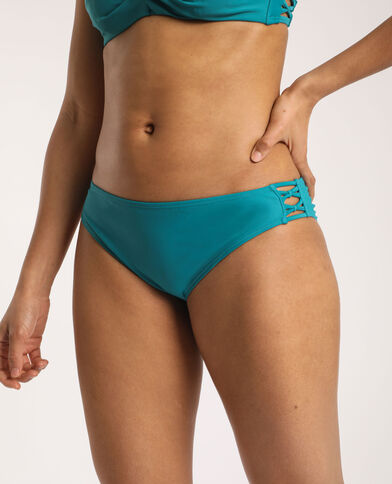 Bas de bikini turquoise