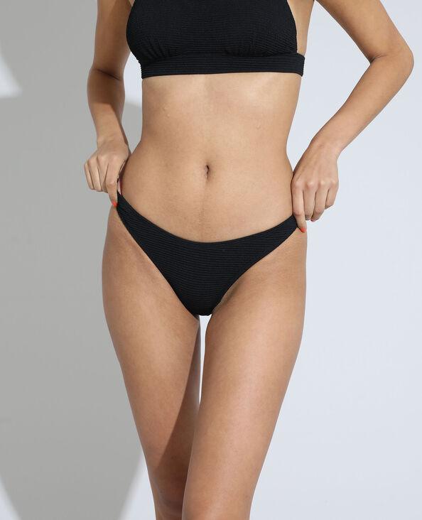 Bas de maillot de bain culotte noir - Pimkie