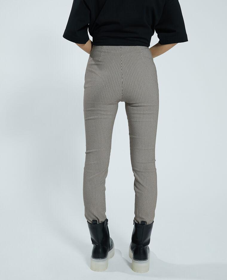 Jegging taille haute marron - Pimkie