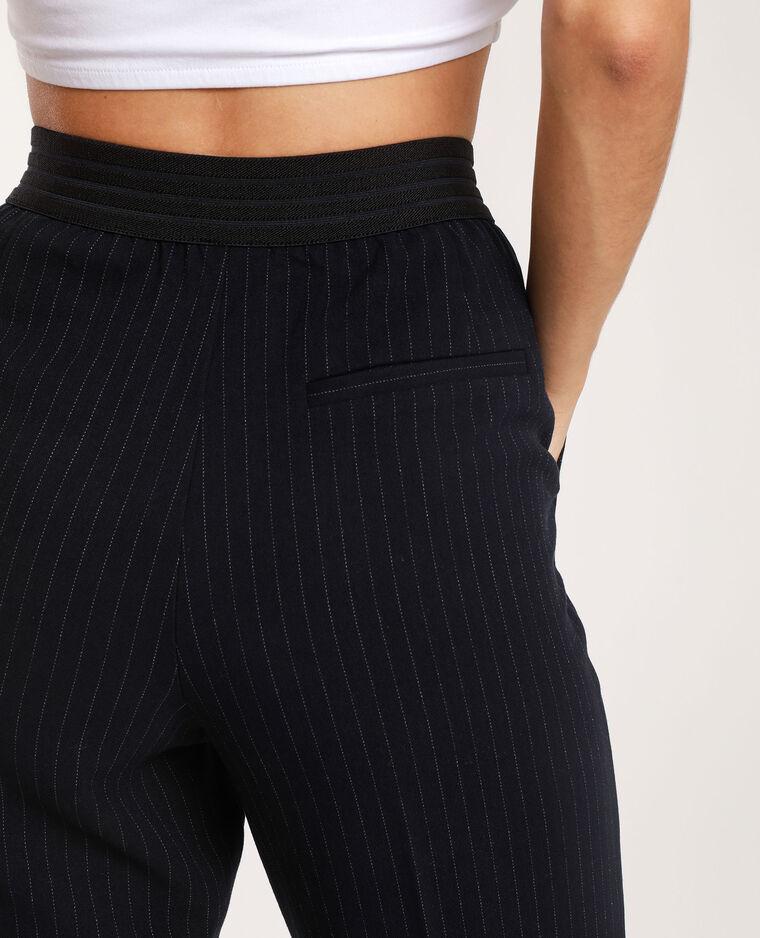 Pantalon à rayures bleu
