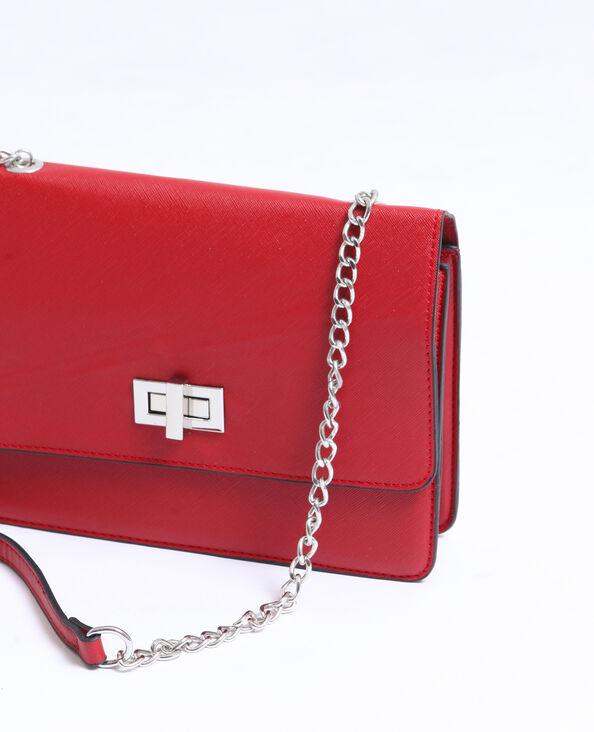 Petit sac boxy rouge
