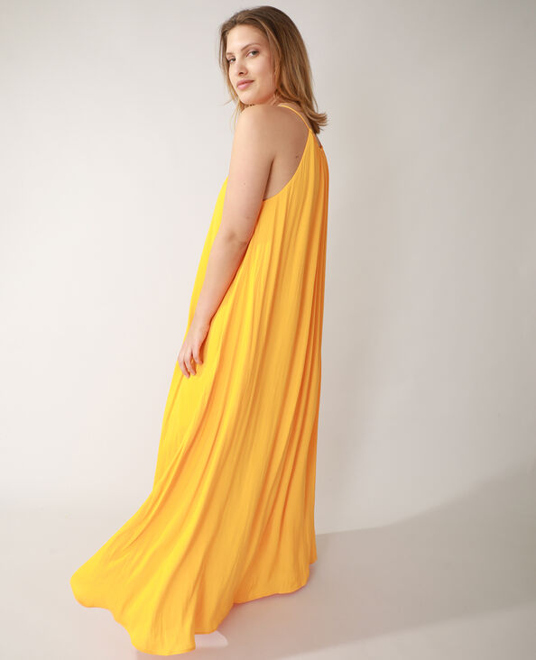Robe longue orange - Pimkie