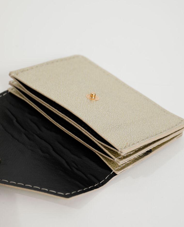 Porte-cartes doré - Pimkie